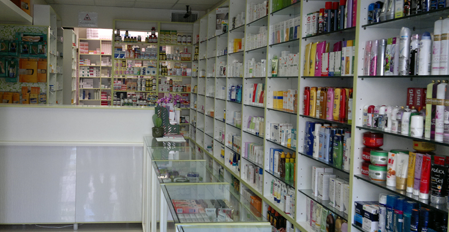 Pharmacies were assigned to medical monitoring system